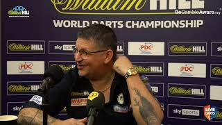 """Gary Anderson on reaching World Championship Semis: """"I've got to thank the boys for riling me up"""""""