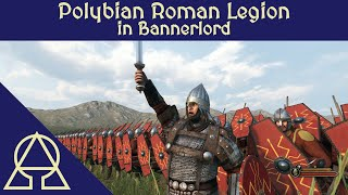 Polybian Legion Defends Against 2000 Barbarians - Mount and Blade II Bannerlord