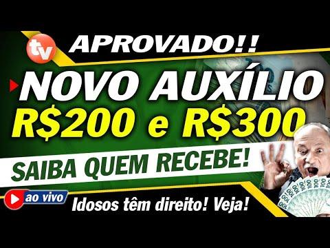 MARAVILHA! SAIU NOVO Auxílio emergencial 2021 de R$300 e R$200 reais