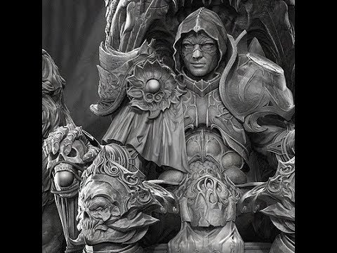 Evil Knight Sculpt Polycount