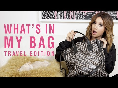 What's inMyBag| Travel Edition | Ashley Tisdale