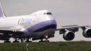 preview picture of video 'China Airlines Cargo at Luxembourg'