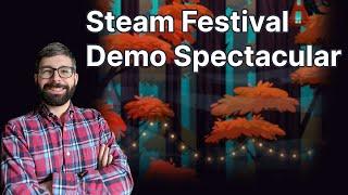 Youtube thumbnail for Steam Festival Demo Spectacular