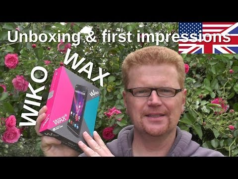 Wiko Wax Unboxing and first impressions of the Tegra 4i phone - www.technoviel.de