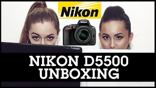 Nikon D5500 DSLR Digital Camera Unboxing