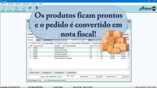 Sistema de Gestão Empresarial Enterprising / Atena