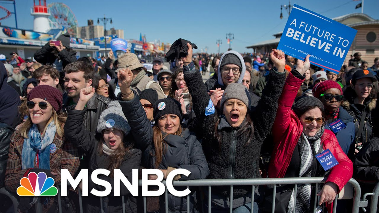 Mika: Hillary Clinton Couldn't Get Bernie-Sized Crowd | Morning Joe | MSNBC thumbnail