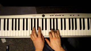 How To Play Roads By Portishead On Piano (Tutorial)