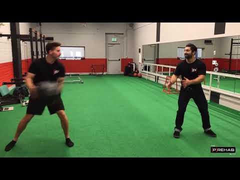 Partner Core Workout Series - Partner Medicine Ball Toss