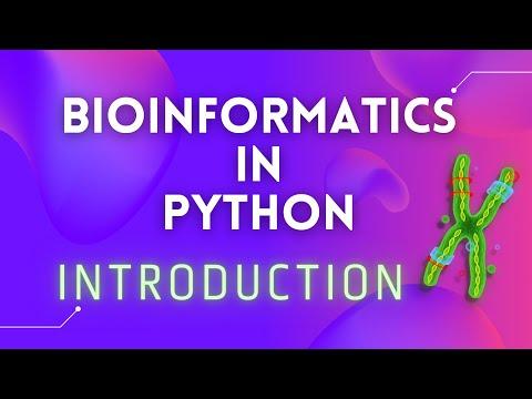 Bioinformatics in Python: Intro