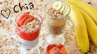 ЧИА пудинг ☆ ПОЛЕЗНЫЕ рецепты ☆ Два вкуса ☆ Chia pudding