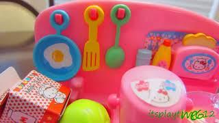 HELLO KITTY MINI KITCHEN PLAYSET Unboxing | itsplaytime612 Toys Play
