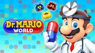 Dr. Mario World - Gameplay Walkthrough Part 1 - First 14 Minutes All 3 Star! (iOS)