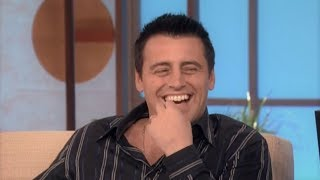 """What's My Next Line"" with Matt LeBlanc on The Ellen Show (10/7/2005)"
