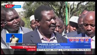 Raila Odinga and Musalia Mudavadi defend Kalonzo that he is in NASA to stay