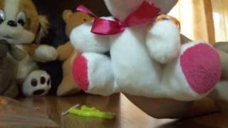 Плетение из резиночек. Урок 1. Мисс Лизавета плетет самый простой браслет.