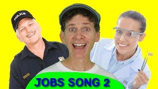 Jobs Song for Kids Part 2 | Who Do You See? | Educational Learning Video |  Learn English Children
