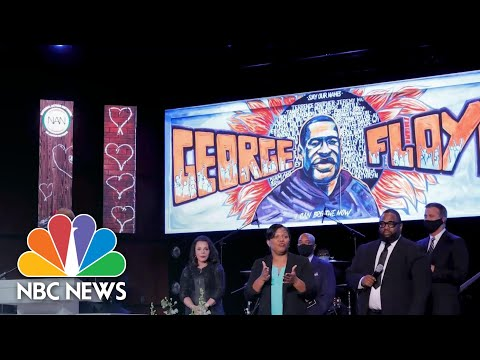 Rev. Al Sharpton At George Floyd Memorial: 'I Am More Hopeful Than Ever' | NBC News NOW