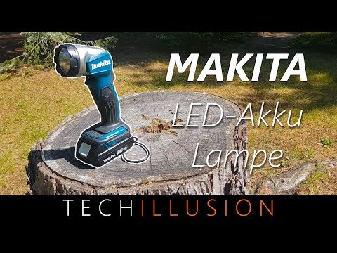 🛠HELLSTE AKKU-LAMPE von Makita - DEADML802 - Review & Test