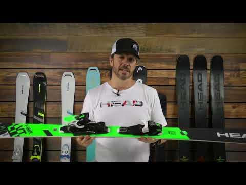 Head V-Shape V10 w/ PR D12 System Skis