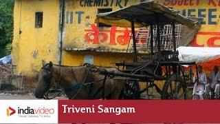 In and around Triveni Sangam, site for Kumba Mela