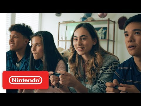 Nintendo Switch Anytime, Anywhere Trailer 2