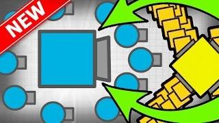 BOSS SUPER EPIC MEGA CRAZY TANK! | Diep.io Huge Update New Tank! | New MASTER Bots Tank