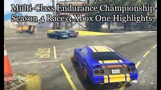 GTA Online Multi-Class Endurance Championship Season Four Race 3 Xbox One Highlights