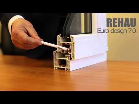 Профильная система Rehau Euro Design 70 - описание, характеристики, преимущества
