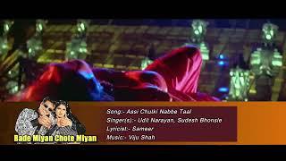 Assi Chutki Nabbe Taal Udit Narayan Sudesh Bhon