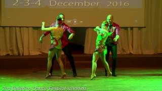 2nd Bailatino Dance Festival Ioannina Antonis & Hara Independance Kizomba Team