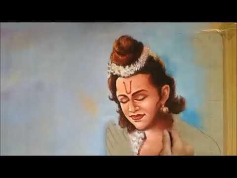 learn portrait rangoli design of lord shree ram by ganesh khare