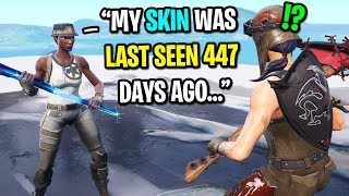 I got CARRIED by a rare RECON EXPERT in Fortnite... (Rarest Skin in Fortnite)