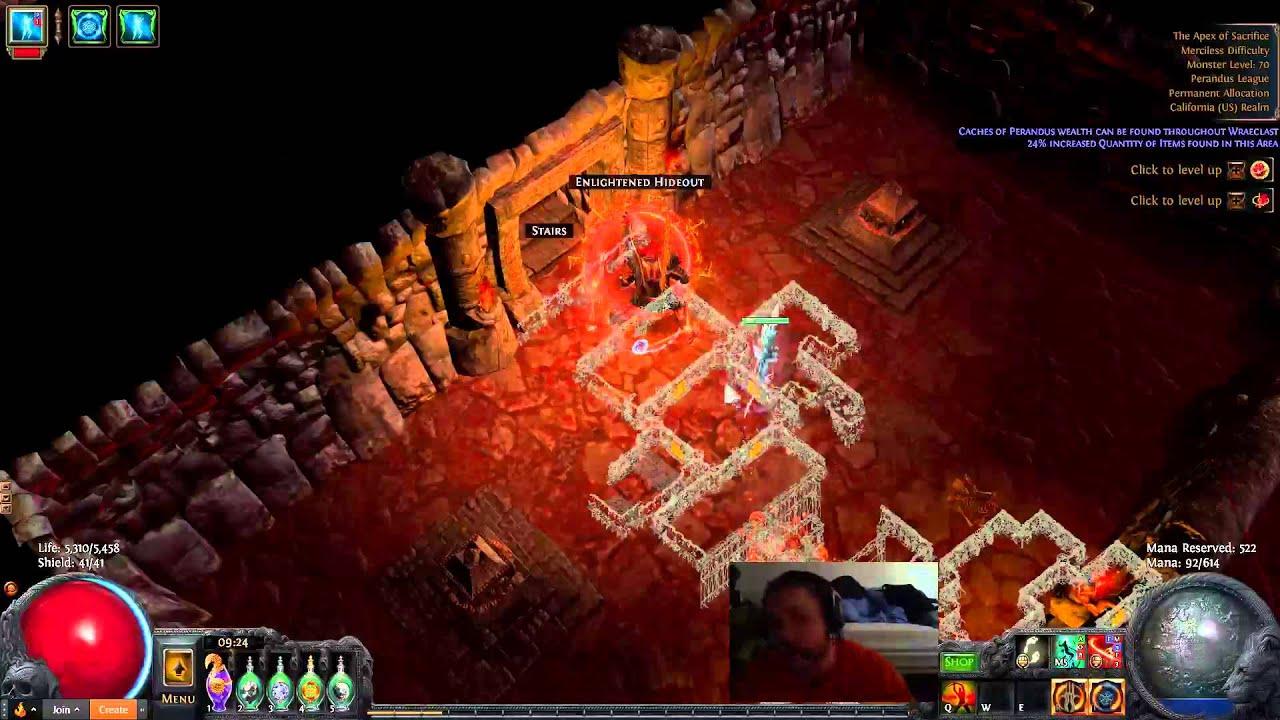 2 2 Hypercleave Berserker Video Guide Easy Atziri Poe 2 2 Marauder Build Build Of Exile Hope best path of exile poe hideout in the world! build of exile