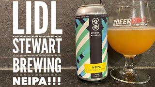 Lidl Craft Beer Festival   Stewart Brewing NEIPA