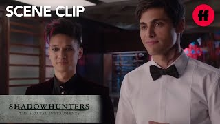 Shadowhunters | Season 1, Episode 12: #Malec's First Date | Freeform