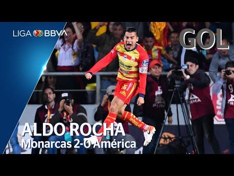 Gol de A. Rocha | Morelia 2 - 0 América | Liga MX - Apertura 2019 Apertura  | LIGA BBVA MX