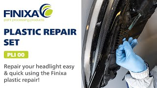 Repair your headlight using the Finixa plastic repair!