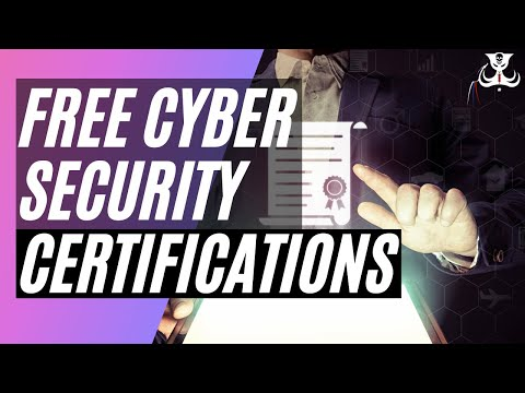 FREE Cyber Security Certifications - YouTube