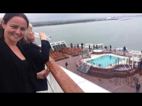 Our transatlantic cruise on Queen Mary II