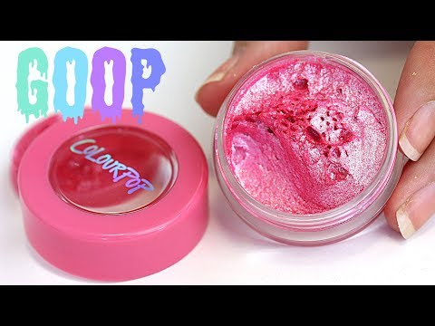Weighing & mixing Colourpop Jelly Much & Glitterally Obsessed! - THE MAKEUP BREAKUP