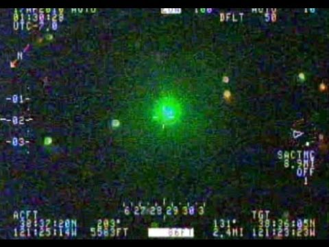 Idiot Shooting Laser Pointer At Helicopter Hunted Down By Cops