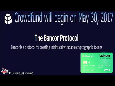 Bancor Protocol start ICO 30 Мая! Bancor - это протокол для создания смарт токенов!