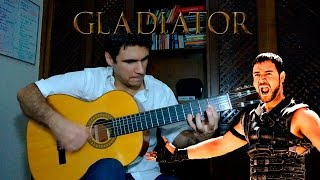 Gladiator Soundtrack on guitar (Barbarian Horde / Honor Him / The Battle) Marcos Kaiser #22
