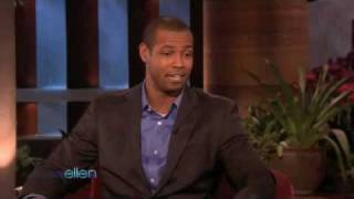 """[03-11-10] - Ellen Degeneres Show (Old Spice Actor, """"Isaiah Mustafa"""")"""