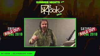 Summer Nights with Dr Hook |  Glasgow 2018