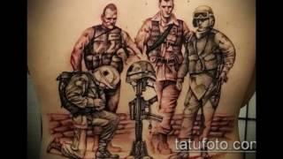 Фото военных тату - информация и рисунки для тату
