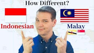 How Different Are Indonesian and Malay?!