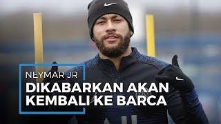 Tak Kunjung Perpanjang Kontrak di PSG, Neymar Dirumorkan akan Perkuat Barcelona