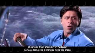 Main agar kahoon with lyrics  Om Shanti Om   - YouTube